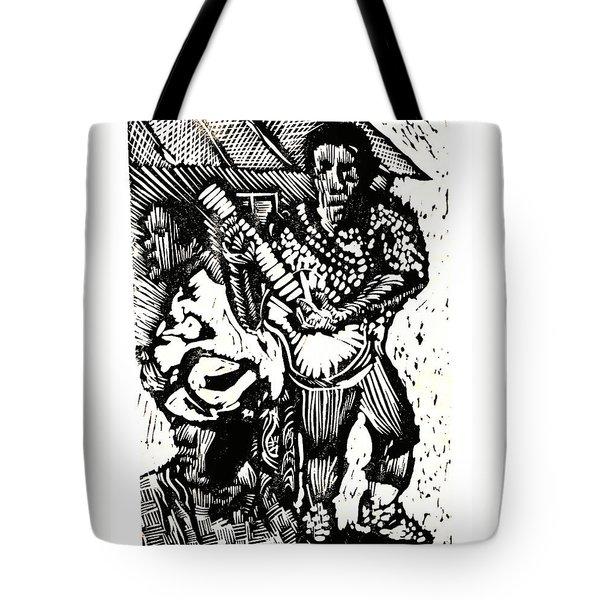 Backyard Music Tote Bag by Seth Weaver