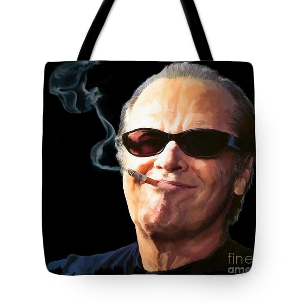Bad Boy Tote Bag by Paul Tagliamonte