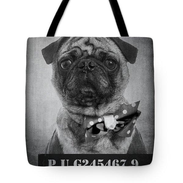 Bad Dog Tote Bag by Edward Fielding