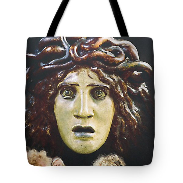 Tote Bag featuring the photograph bad hair day at d'Orsay museum, Paris.  by Joe Schofield
