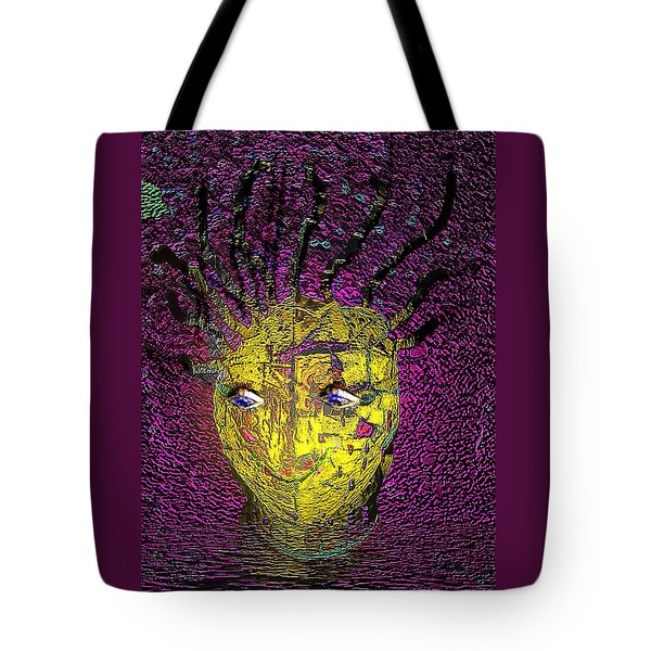 Bad Hair Day Tote Bag by Irma BACKELANT GALLERIES