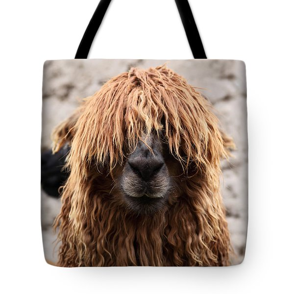Bad Hair Day Tote Bag by James Brunker