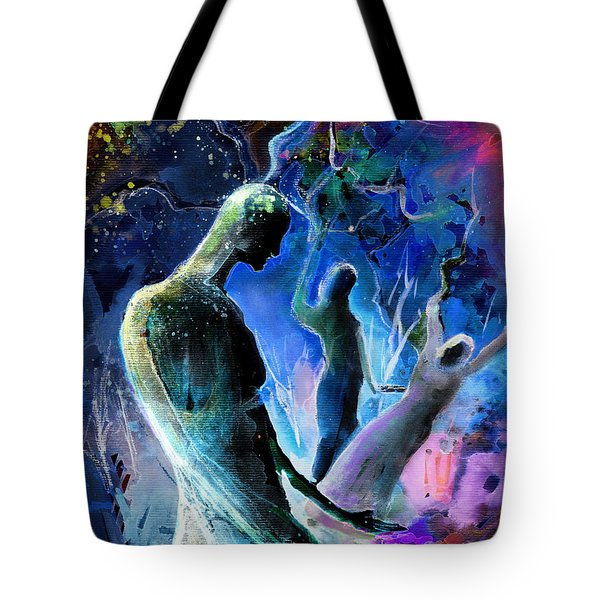 Bad Herbs 02 Tote Bag by Miki De Goodaboom