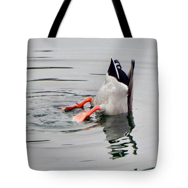 Bad Landing Tote Bag by Deb Halloran