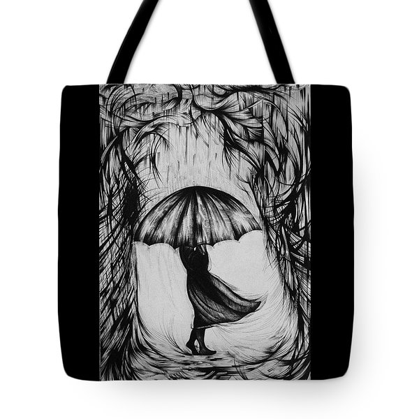Bad Mood II Tote Bag by Anna  Duyunova
