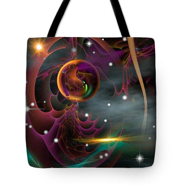 Bad Moons Arisin' Tote Bag by Phil Sadler