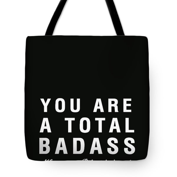 Badass Birthday Card Tote Bag