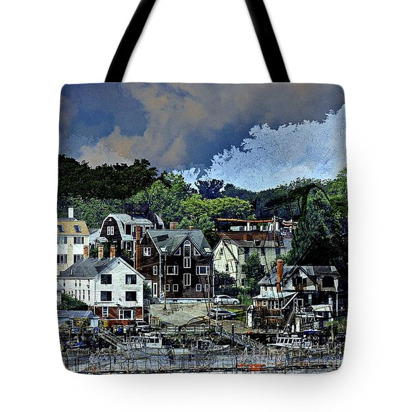 Badger Island Tote Bag