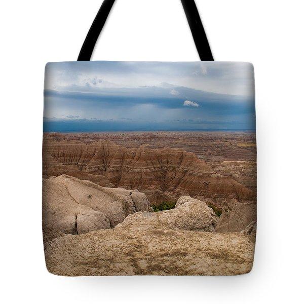 Badlands South Dakota Tote Bag by Don Spenner