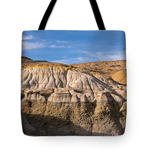 Badlands Erosion Tote Bag by Vivian Christopher