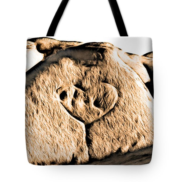 Badlands Love Tote Bag
