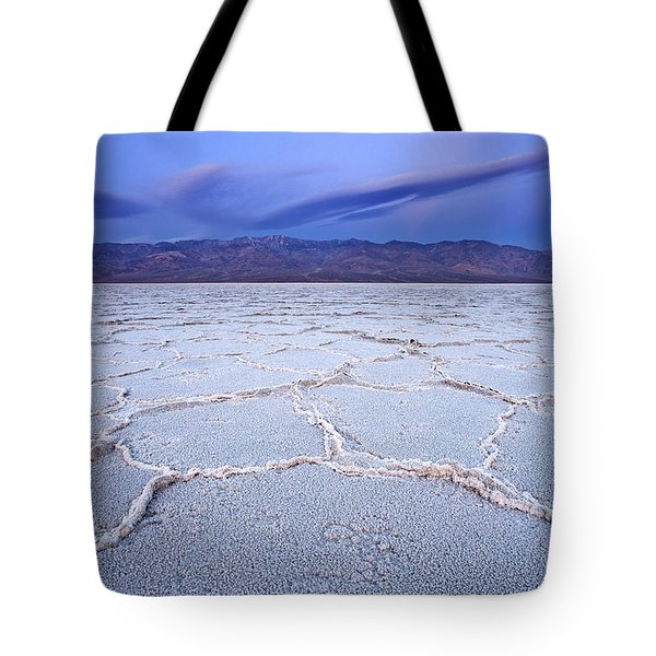 Badwater Dawn Tote Bag