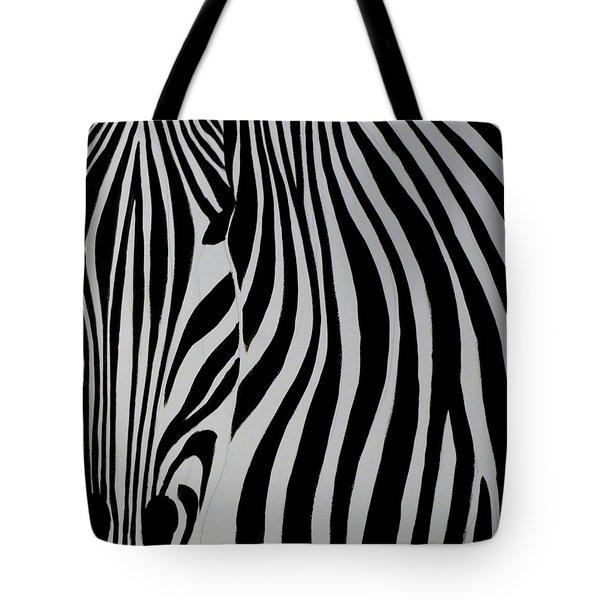 Badzebra Tote Bag