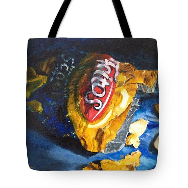 Bag Of Chips Tote Bag