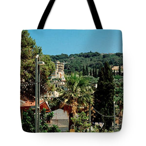 Bahai Temple On Mt Carmel, Haifa, Israel Tote Bag