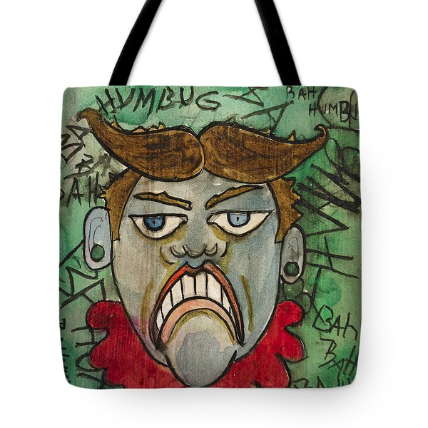 Bahhumbug Tillie Tote Bag by Patricia Arroyo