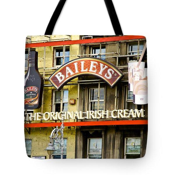 Baileys Irish Cream Tote Bag by Charlie Brock