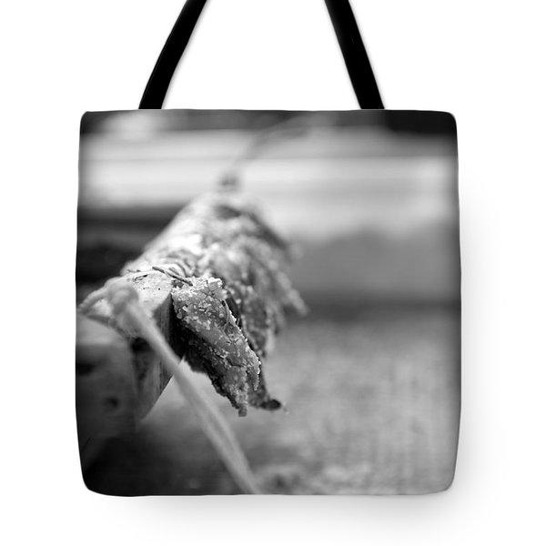 Bait On Hooks  Tote Bag