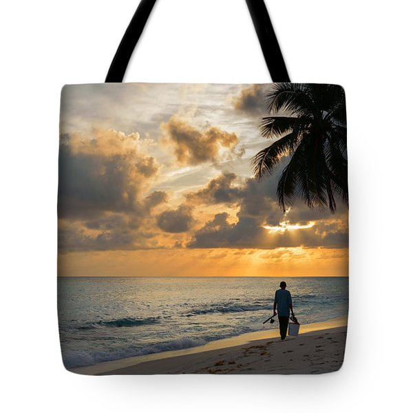 Bajan Fisherman Tote Bag