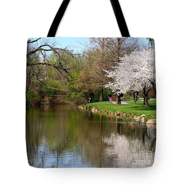 Baker Park Tote Bag by Patti Whitten