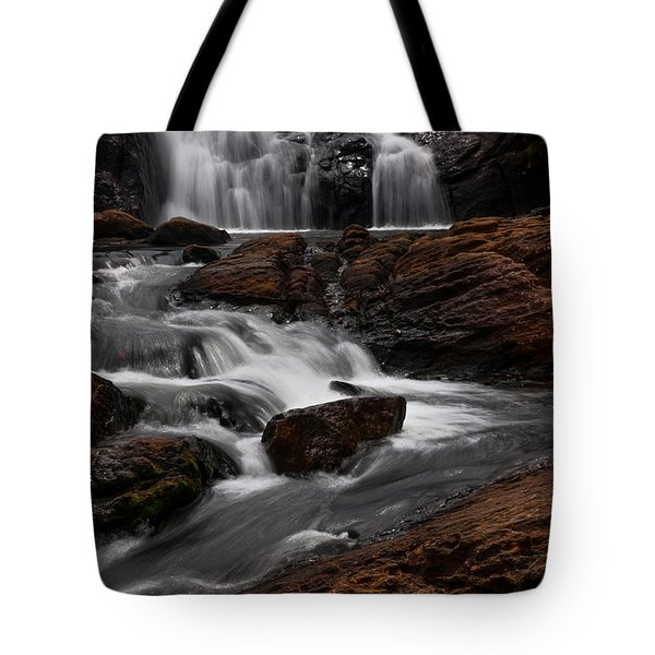 Bakers Fall IIi. Horton Plains National Park. Sri Lanka Tote Bag by Jenny Rainbow