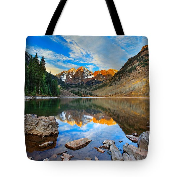 Tote Bag featuring the photograph Balance by Kadek Susanto