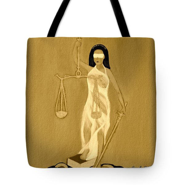Balance 3 Tote Bag by Lorna Maza