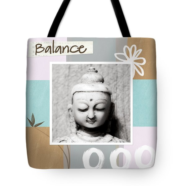 Balance- Zen Art Tote Bag