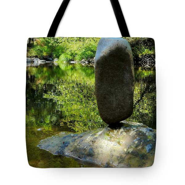 Balanced Reflections Tote Bag