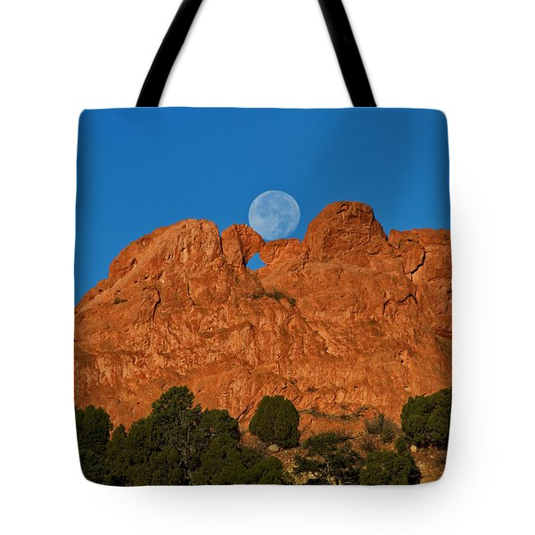 Tote Bag featuring the photograph Balancing Act by Ronda Kimbrow