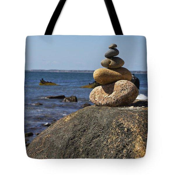 Balancing Rock 2 Tote Bag by Rosie McCobb