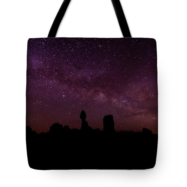 Balancing The Universe Tote Bag by Silvio Ligutti
