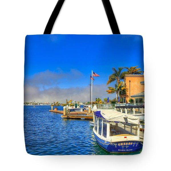 Balboa Island - North Tote Bag by Jim Carrell