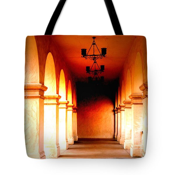 Balboa Park At Sunrise Xl Tote Bag