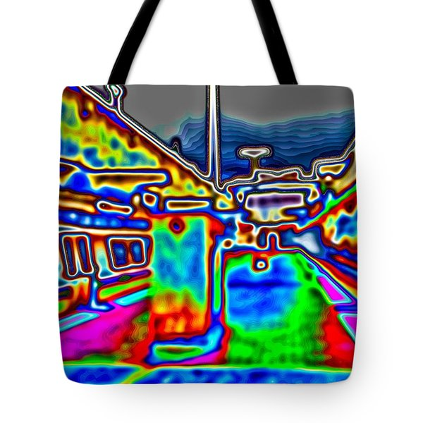 Tote Bag featuring the photograph Balboa Park by Nick David