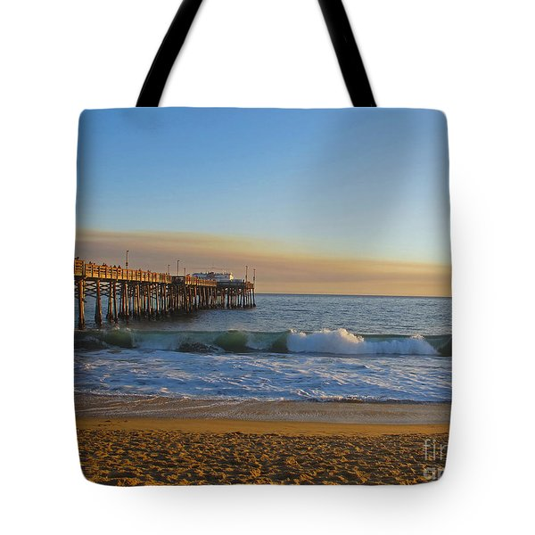 Balboa Pier Tote Bag