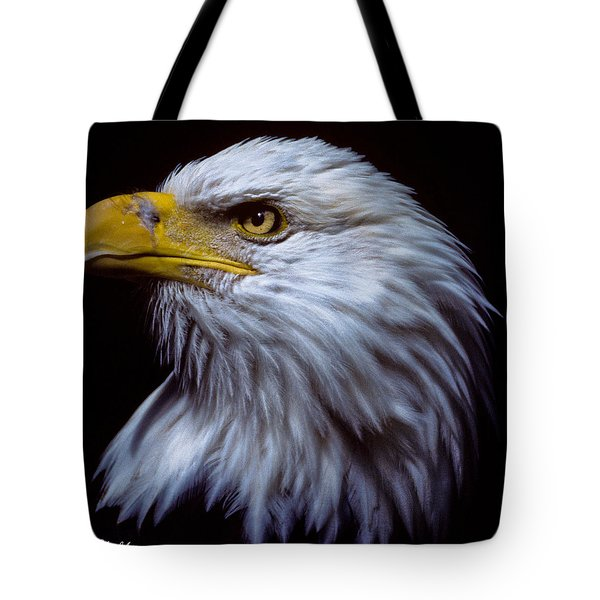Tote Bag featuring the photograph Bald Eagle by Jeff Goulden
