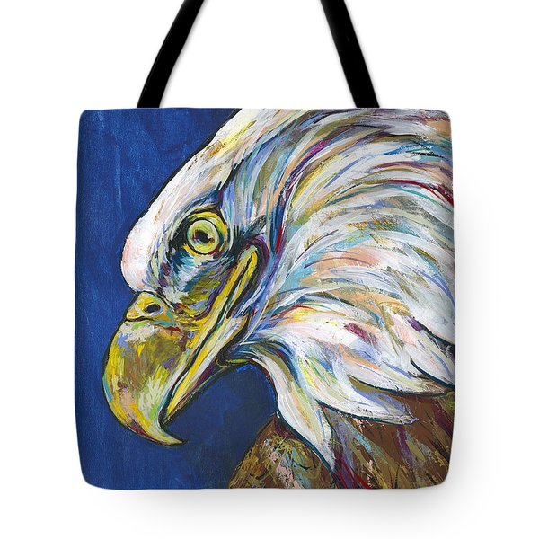 Bald Eagle Tote Bag by Lovejoy Creations