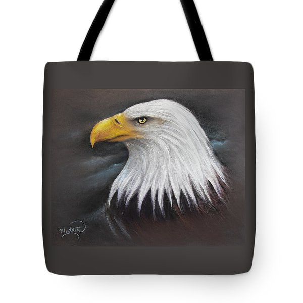 Bald Eagle Tote Bag by Patricia Lintner