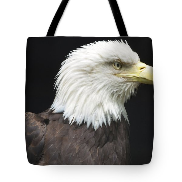 Bald Eagle Profile 2 Tote Bag by Richard Bryce and Family