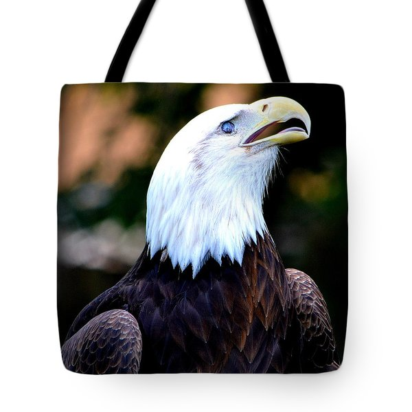 Tote Bag featuring the photograph Bald Is Beautiful by Deena Stoddard