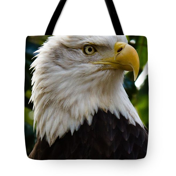 Bald Is Beautiful Tote Bag by Robert L Jackson