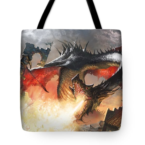 Balerion The Black Tote Bag