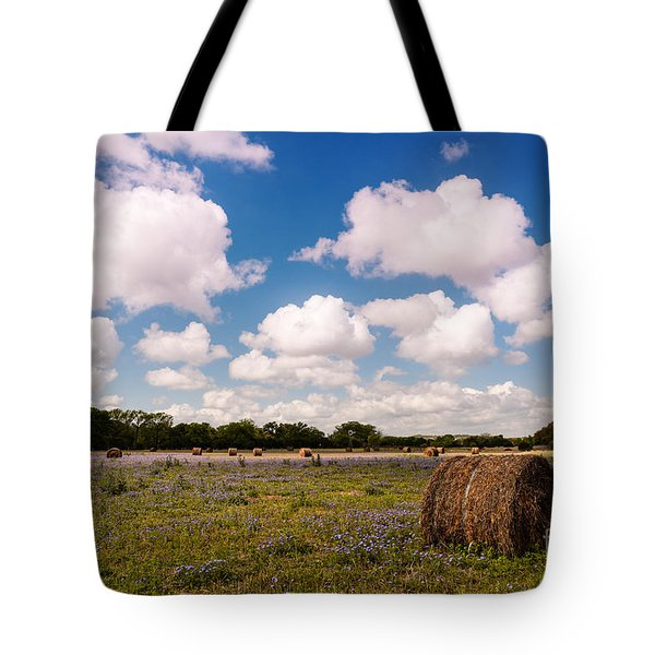 Bales Of Hale - Quintessential Texas Hill Country - Luckenback Tote Bag