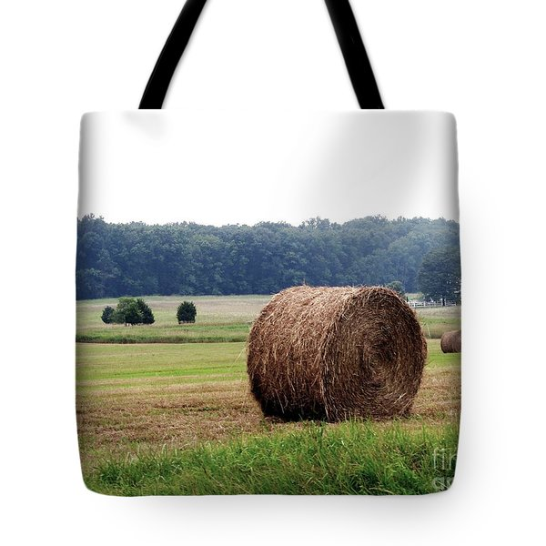Bales In Solebury Tote Bag