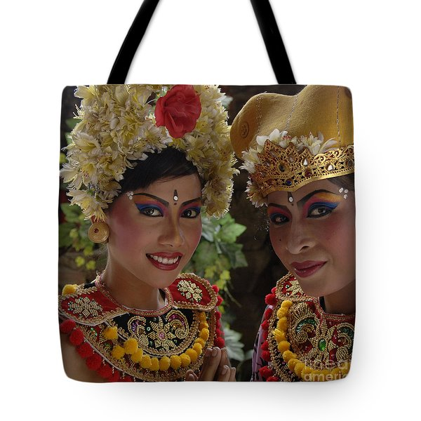 Bali Beauties Tote Bag by Bob Christopher