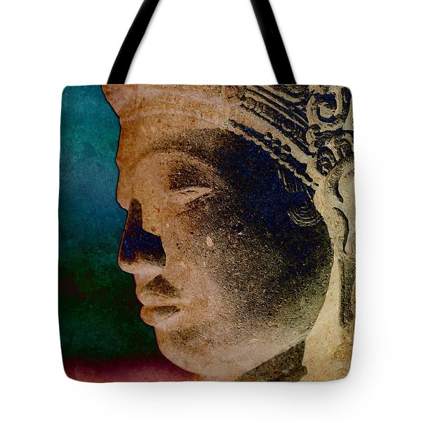 Balinese 3 Tote Bag by WB Johnston