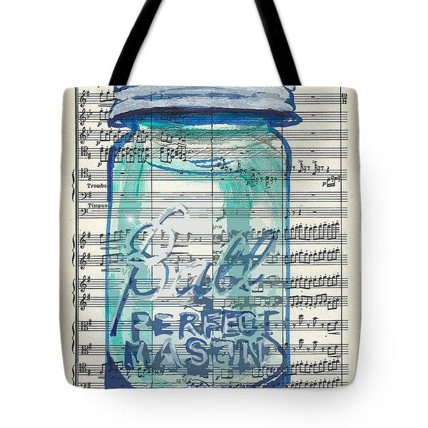Ball Jar Classical  #132 Tote Bag