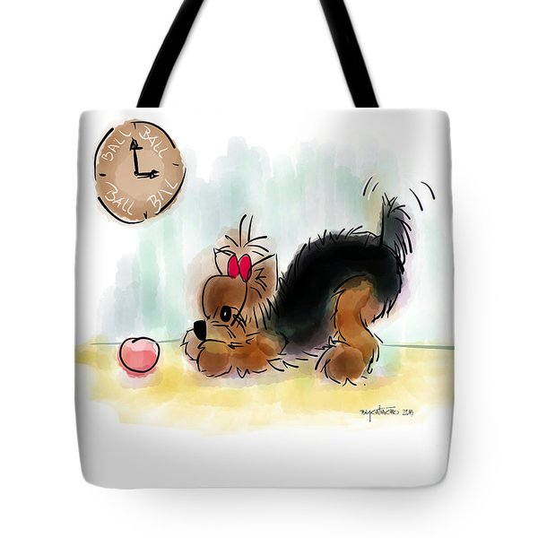 Ball Time Tote Bag