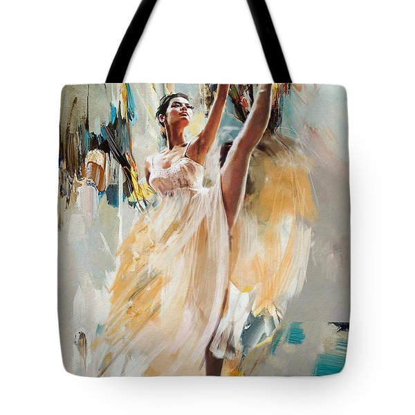 Ballerina 24 Tote Bag
